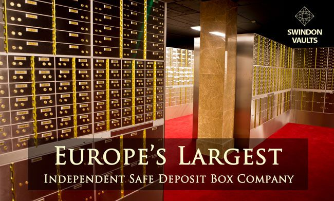 Opening Soon Safety Deposit Boxes Swindon