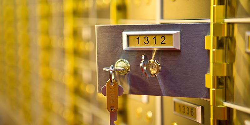 Safety Deposit Boxes Walsall