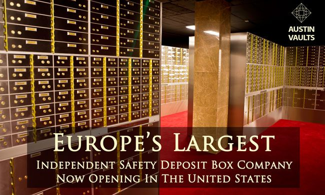 SAFETY DEPOSIT BOX FACILITY AUSTIN VAULTS