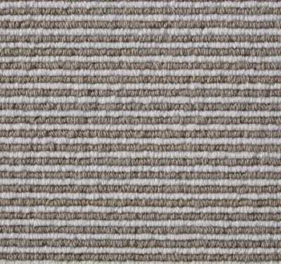 Natural Loop Cable Coffee & Cream Carpet 3