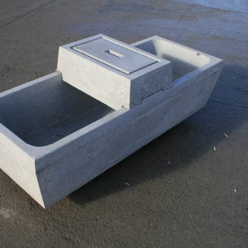 40 Gallon Water Trough 1